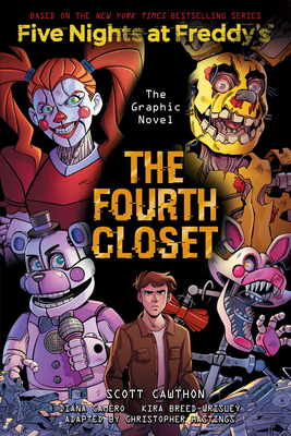 The Fourth Closet: An AFK Book (Five Nights at Freddy's Graphic Novel #3) Cover Image