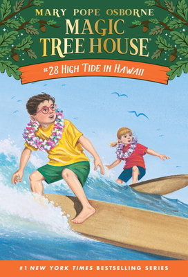 High Tide in Hawaii (Magic Tree House (R) #28) Cover Image