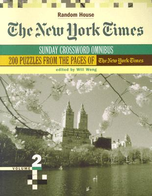 The New York Times Sunday Crossword Omnibus, Volume 2 Cover Image