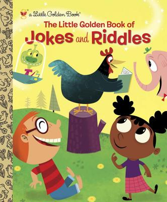 The Little Golden Book of Jokes and Riddles Cover