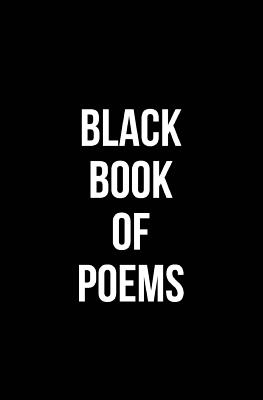 Cover for Black Book of Poems