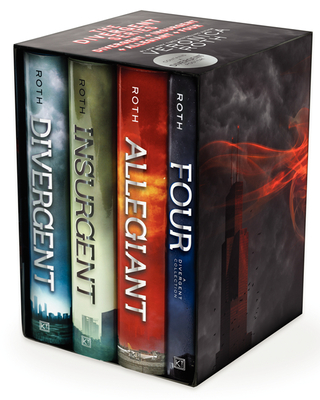 The Divergent Series: Divergent, Insurgent, Allegiant, Four Cover Image