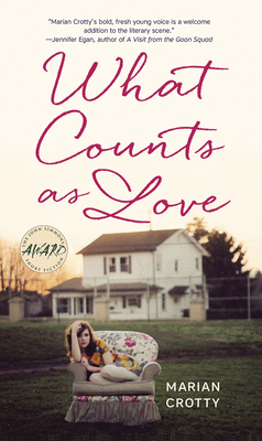 Cover for What Counts as Love (Iowa Short Fiction Award)