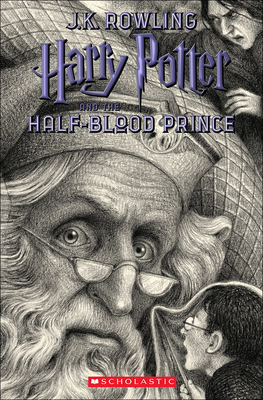 Harry Potter and the Half-Blood Prince (Brian Selznick Cover Edition) Cover Image