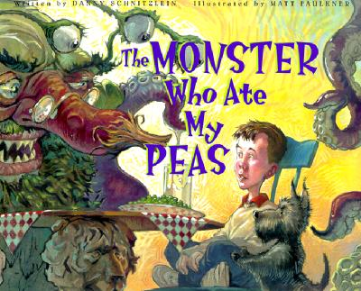 The Monster Who Ate My Peas Cover