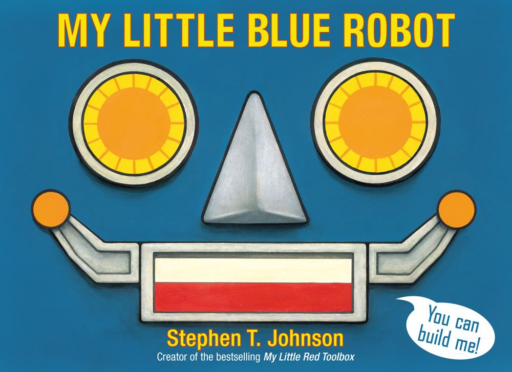 My Little Blue Robot Cover Image