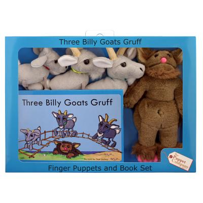 Three Billy Goats Gruff Cover Image