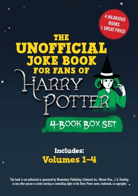 The Unofficial Harry Potter Joke Book 4-Book Box Set: Includes Great Guffaws for Gryffindor, Stupefying Shenanigans for Slytherin, Howling Hilarity for Hufflepuff, andRaucous Jokes and Riddikulus Riddles for Ravenclaw! Cover Image