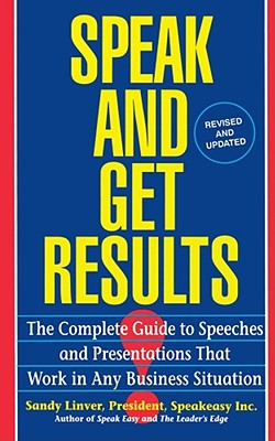 Cover for Speak and Get Results