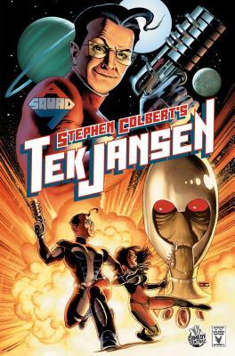 Stephen Colbert's Tek Jansen Cover