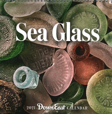 2021 Sea Glass Wall Calendar Cover Image