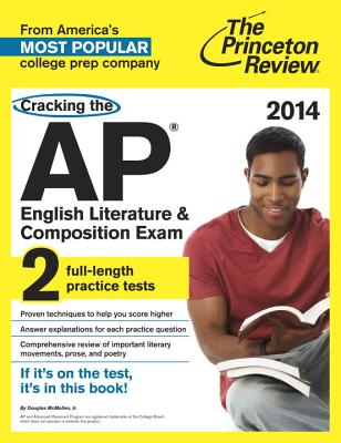 Cracking the AP English Literature & Composition Exam, 2014 Edition Cover