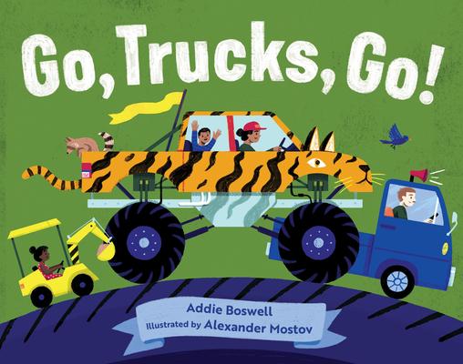 Go, Trucks, Go! (In Motion) Cover Image