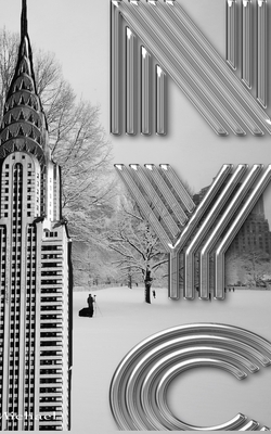 Central Park Iconic Chrysler Building New York City Sir Michael Huhn Artist Drawing Journal Cover Image