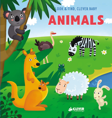 Cover for Animals (Look & Find, Clever Baby)