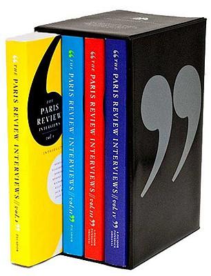 The Paris Review Interviews (Boxed Set) I-IV Cover