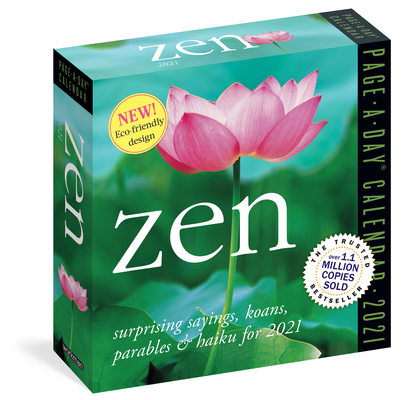 Zen Page-A-Day Calendar 2021 Cover Image