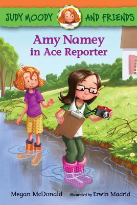 Judy Moody and Friends: Amy Namey in Ace Reporter Cover Image