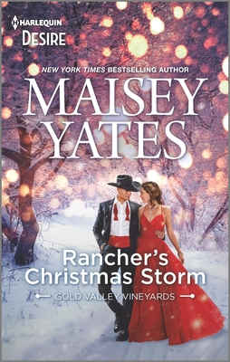 Rancher's Christmas Storm: A Western Snowbound Romance Cover Image