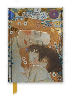 Gustav Klimt: Three Ages of Woman (Foiled Journal) (Flame Tree Notebooks #4) Cover Image