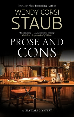 Cover for Prose and Cons (Lily Dale Mystery #4)