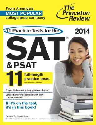 11 Practice Tests for the SAT & PSAT Cover