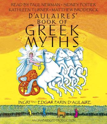 D'Aulaires' Book of Greek Myths Cover Image