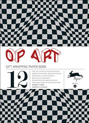Op Art: Gift Wrapping Paper Book Vol. 4 Cover Image