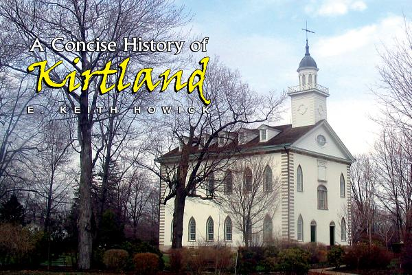 A Concise History of Kirtland Cover