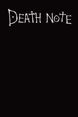Deathnote: Cahier Death note, Agenda 2019, Theme Death note, Semainier de janvier à décembre, Design et ergonomique, Simple et ef Cover Image