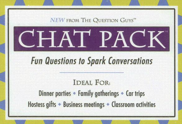 Chat Pack: Fun Questions to Spark Conversations Cover Image