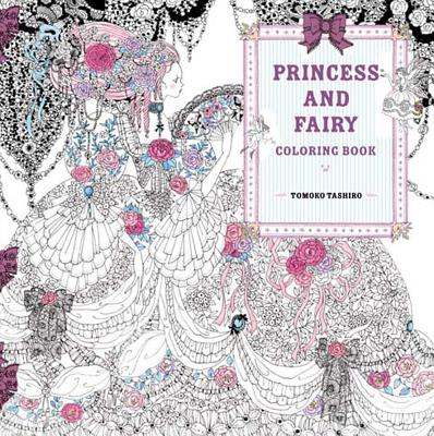 Cover for Princess and Fairy Coloring Book