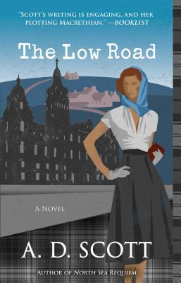 Cover for The Low Road, 5 (Highland Gazette Mystery #5)