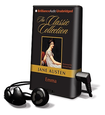 Emma [With Earbuds] (Playaway Adult Fiction) Cover Image