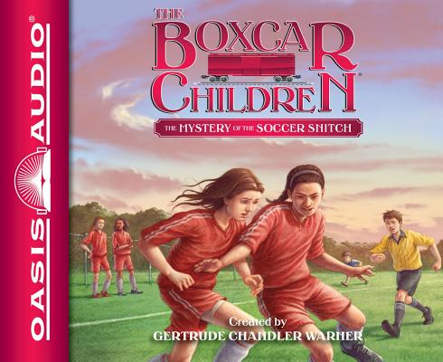 Cover for The Mystery of the Soccer Snitch (Library Edition) (The Boxcar Children Mysteries #136)