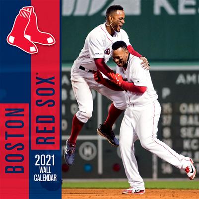 Boston Red Sox 2021 12x12 Team Wall Calendar Cover Image