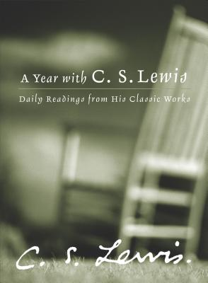 A Year with C.S. Lewis Cover