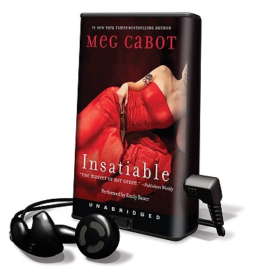 Insatiable [With Earbuds] (Playaway Adult Fiction) Cover Image