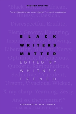 Black Writers Matter Cover Image