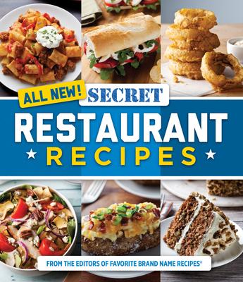 All New! Secret Restaurant Recipes Cover Image