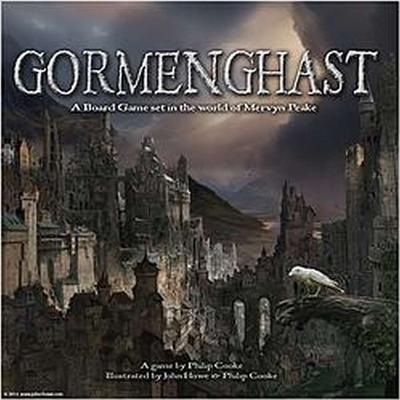 Gormenghast the Game: A Board Game Set in the World of Mervyn Peake Cover Image