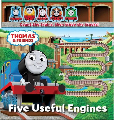Thomas & Friends: Five Useful Engines (Storytime Sliders) Cover Image