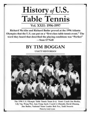 History of U.S. Table Tennis, Volume 22 Cover Image