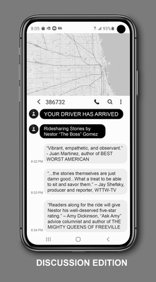 Your Driver Has Arrived - Discussion Edition: Ridesharing Stories by Nestor