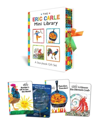 The Eric Carle Mini Library Cover