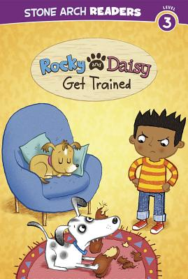 Rocky and Daisy Get Trained (Stone Arch Readers: My Two Dogs) Cover Image