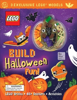 LEGO(R) Iconic: Build Halloween Fun (Activity Book with Minifigure) Cover Image