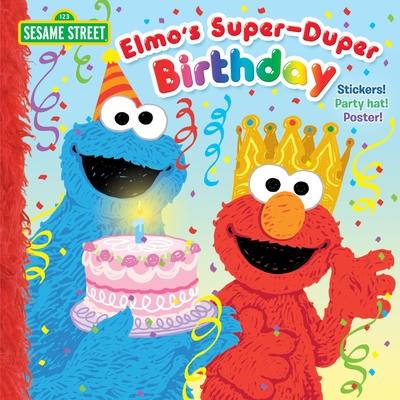 Elmo's Super-Duper Birthday (Sesame Street) (Pictureback(R)) Cover Image