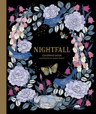 Nightfall Coloring Book: Originally Published in Sweden as Skymningstimman Cover Image