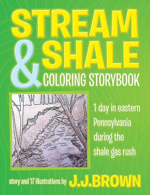 Stream and Shale Coloring Storybook Cover